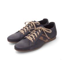 Kék-barna utcai cipő